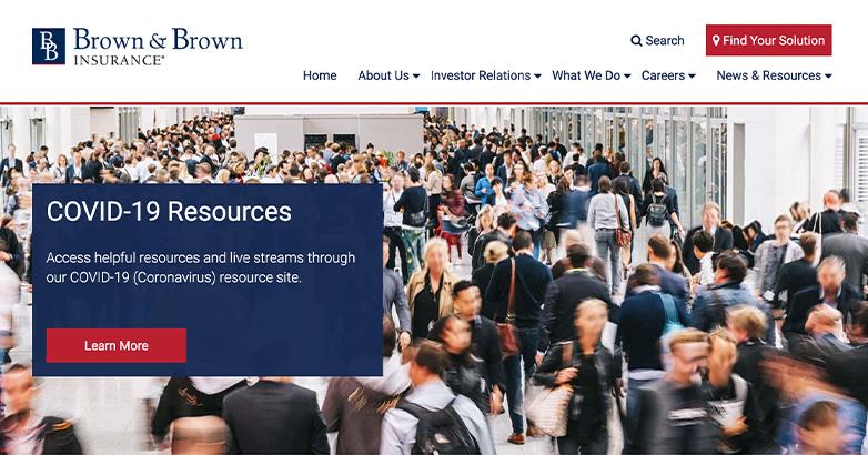 design for insurance website