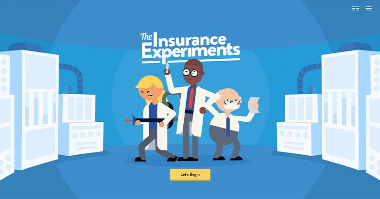 web design for insurance