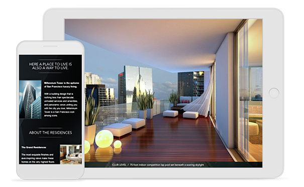 An example of marketing for real estate developers by Mediaboom