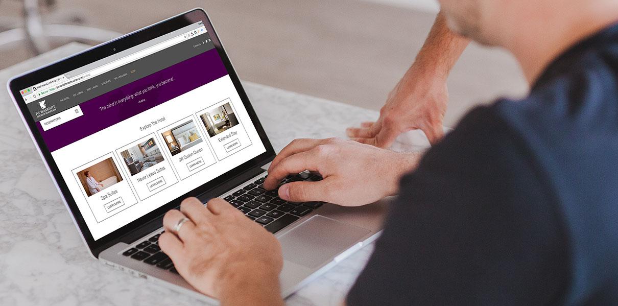 Hotel Web Design by Mediaboom