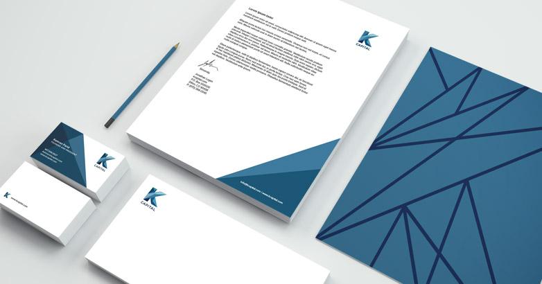 K Capital: Investment Logo Design & Branding