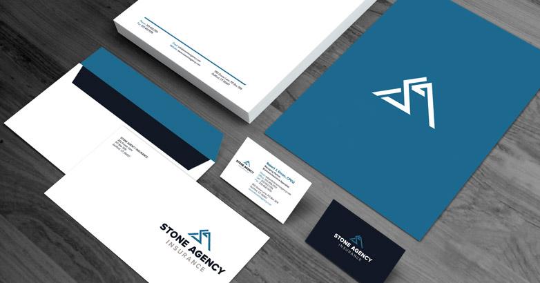The Stone Agency: Insurance Branding & Logo Design
