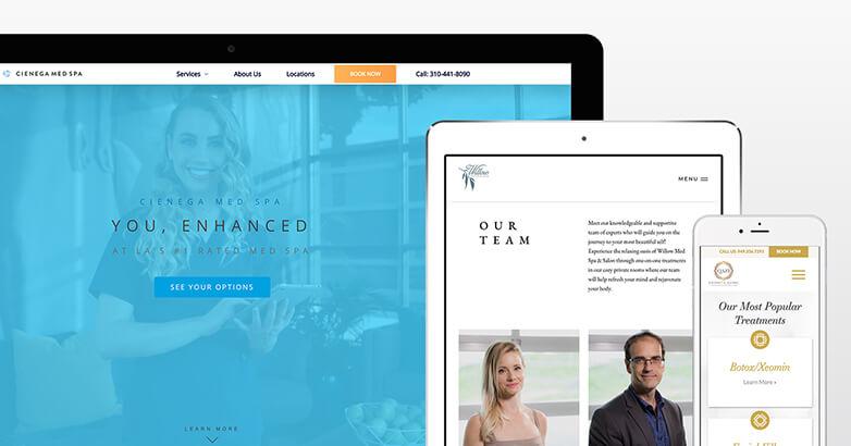 MedSpa Website Design : 10 Examples of Brands That Got It Right