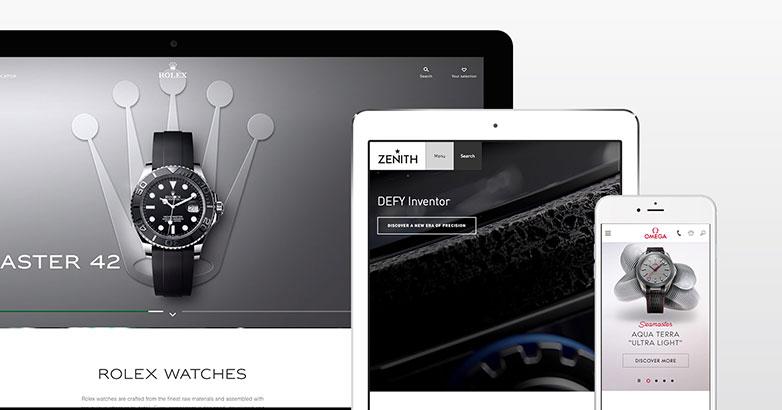 Luxury Watch Website Design : 11 Industry Leading Examples