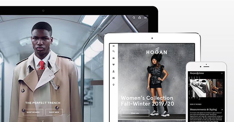 Luxury Fashion Website Design : 14 Brilliant Examples