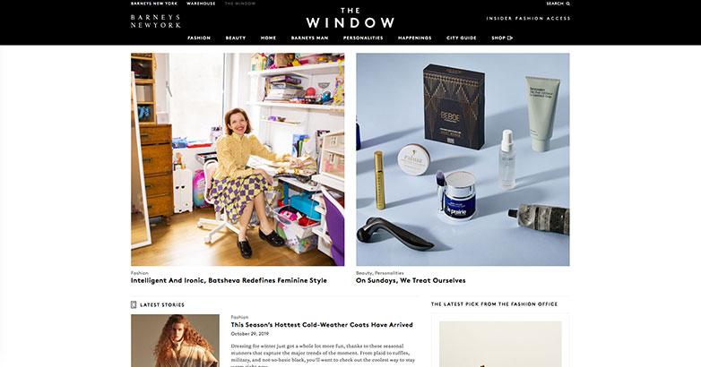 barneys luxury brand content marketing