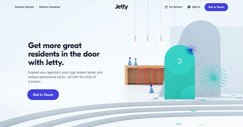 insurance website design for jetty