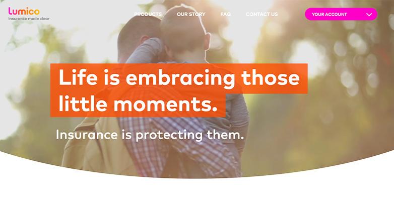website design for insurance agency