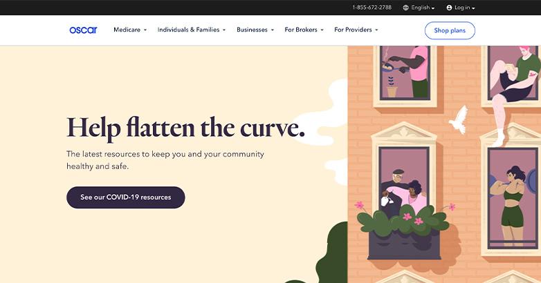 website design for insurance firm