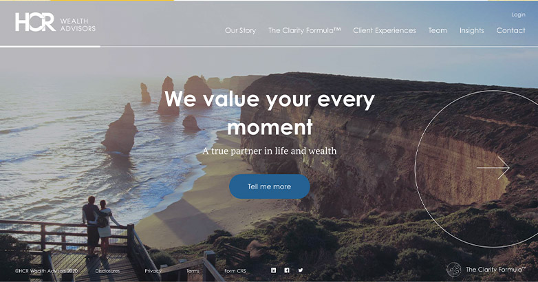 Financial Advisor Website Design – 27 of the Best Examples