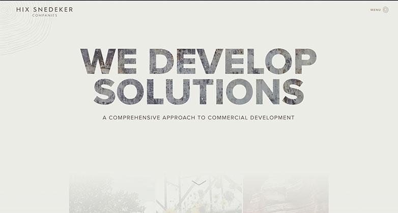 hix snedeker real estate investor website design