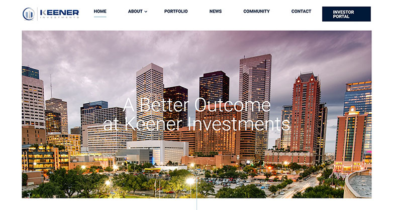 real estate investor website design