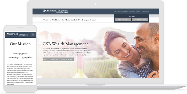 GSB Wealth Website