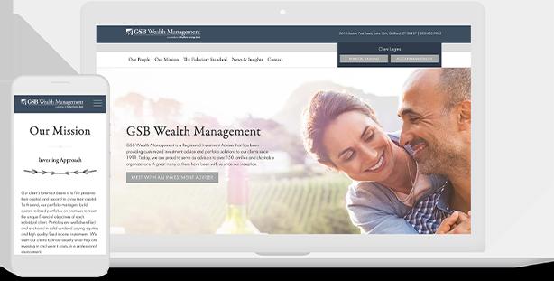 GSB Wealth Website