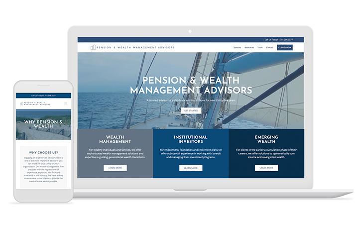 Pension & Wealth Website