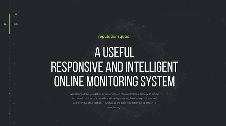 reputation squad b2b website design