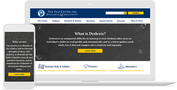 Yale Dyslexia Website