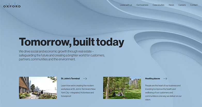 oxford properties website