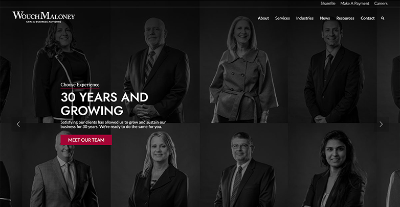 wouch maloney & co. website