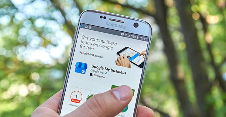 google my business for financial advisors