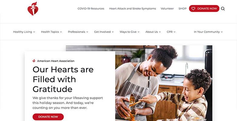 American Heart Association Website