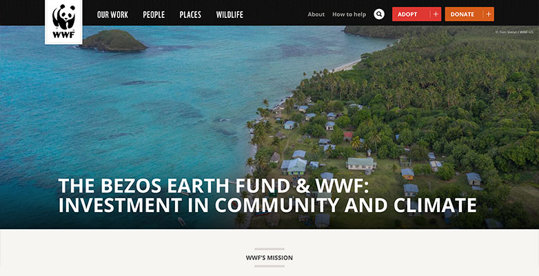 Word Wildlife Foundation Website