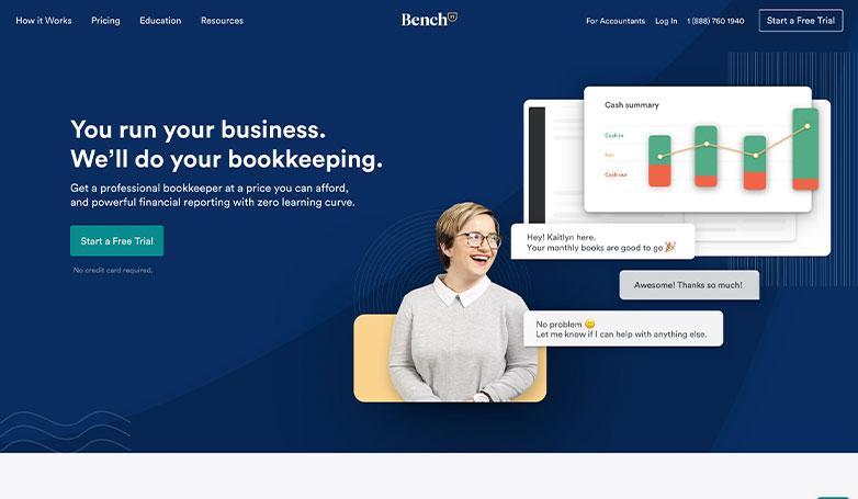 bench website