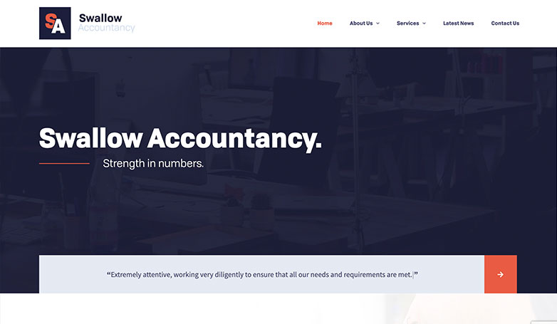swallow accountant website