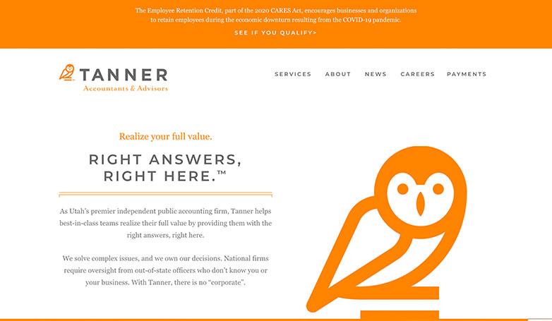 tanner website