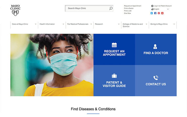 Healthcare Website Designs – 15 Stunning Examples