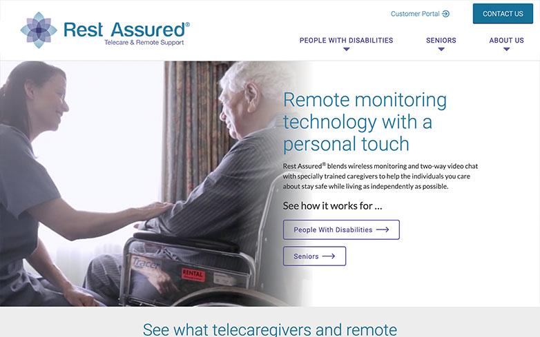 Rest Assured Website