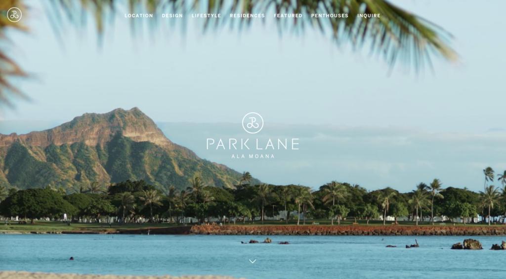 Park lane Website