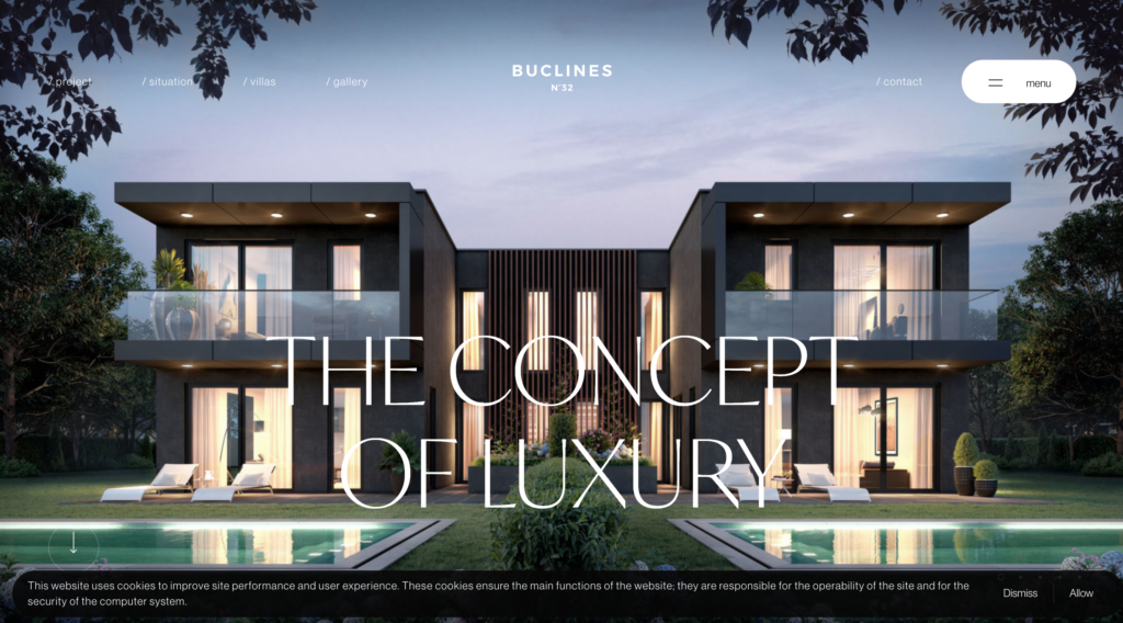 Buclines Website
