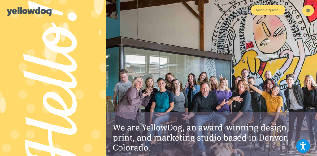 yellow dog website