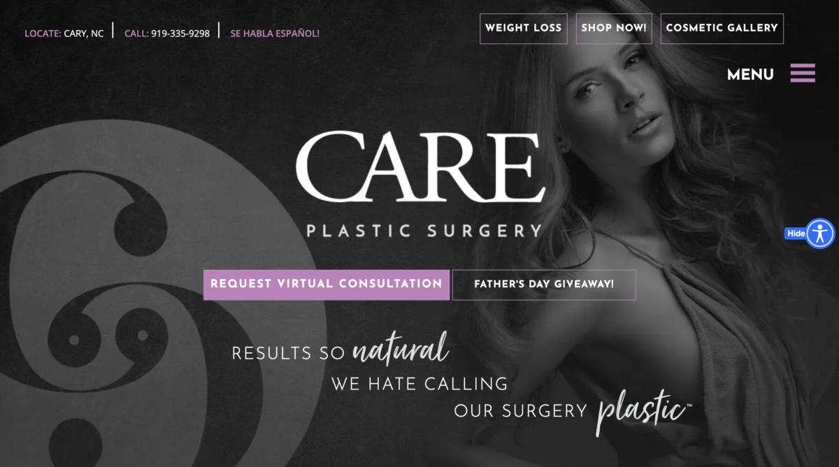 Plastic Surgery Web Design – 26 Stunning Examples