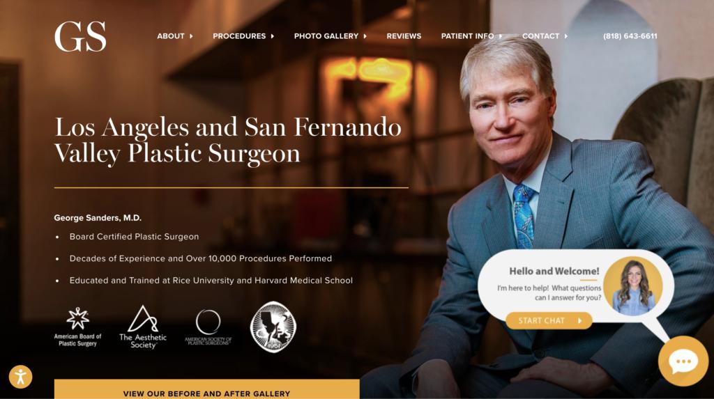 medical spa websites