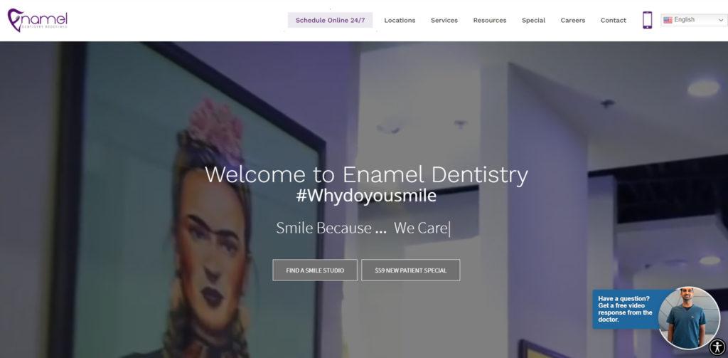 Best dentist's website