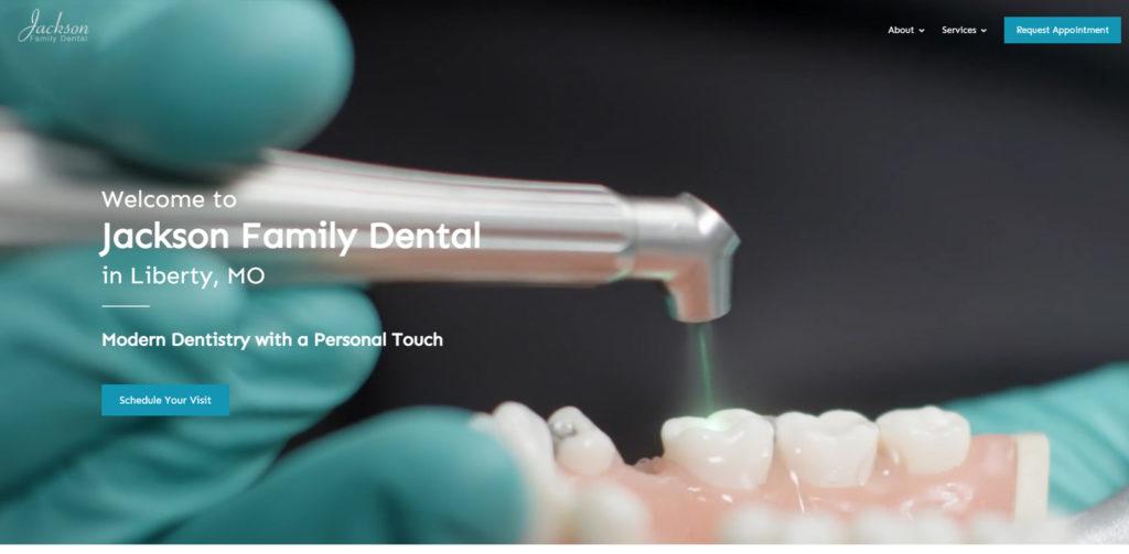 Dental Web Design List