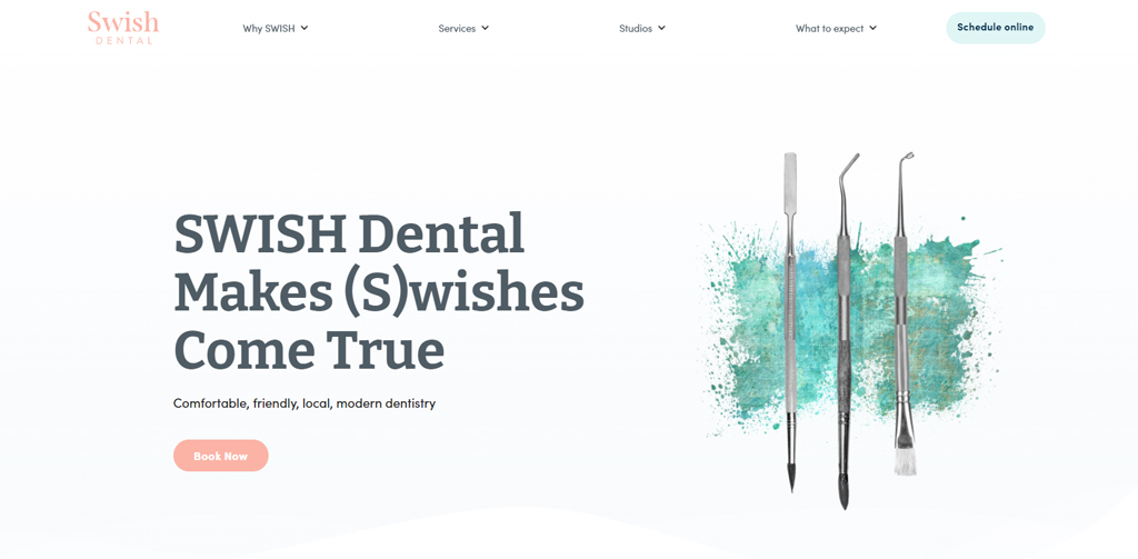 dentist's website List
